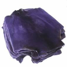 Бобр канадский стриженный крашеный фиолетовый