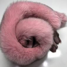 """Песец крашеный в цвет """"Розовый"""""""